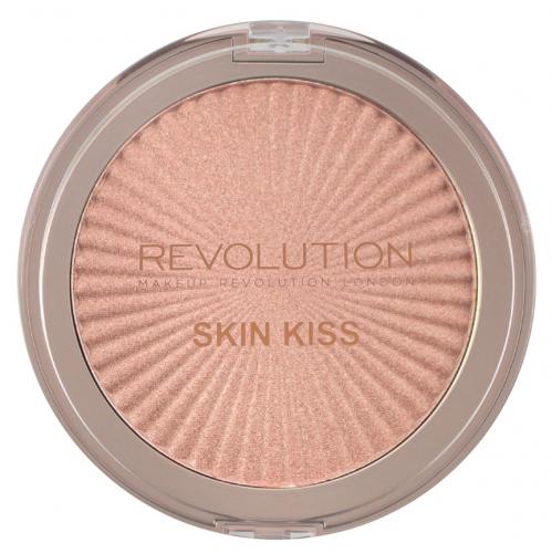 MAKEUP REVOLUTION - SKIN KISS - Highlighter - Rozświetlacz do twarzy