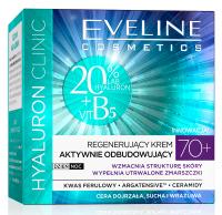 EVELINE - HYALURON CLINIC 70+ Regenerujący krem do twarzy aktywnie odbudowujący