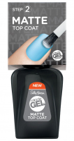 Sally Hansen - MIRACLE GEL MATTE TOP COAT - Matt topcoat
