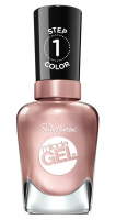 Sally Hansen - MIRACLE GEL - Żelowy lakier do paznokci - 207 - OUT OF THIS PEARL - 207 - OUT OF THIS PEARL