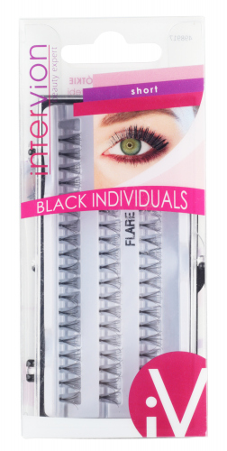 Inter-Vion - BLACK INDIVIDUALS - Tufts of eyelashes - SHORT