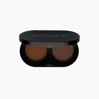 Sigma - COLOR + SHAPE BROW POWDER DUO - Set of 2 eyebrow  powders - DARK