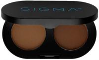 Sigma - COLOR + SHAPE BROW POWDER DUO - Zestaw 2 pudrów do brwi