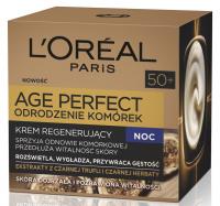 L'Oréal - AGE PERFECT - Odrodzenie komórek - Krem odbudowujący i stymulujący odnowę komórek na noc 50+
