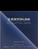 KRYOLAN - OIL BLOTTING PAPER - Matting paper 50 pcs - ART. 9789