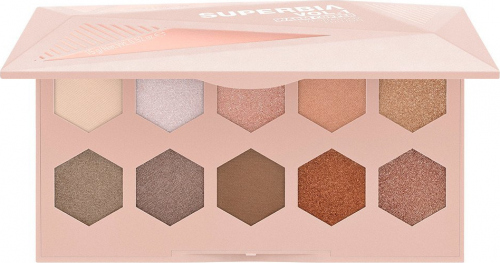 Catrice - SUPERBIA Eyeshadow Edition - Paleta cieni do powiek - VOL.1 WARM COPPER