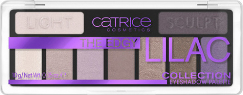 Catrice - THE EDGY LILAC - COLLECTION EYESHADOW PALETTE - 9 eyeshadows - 010 Purple Up Your Life