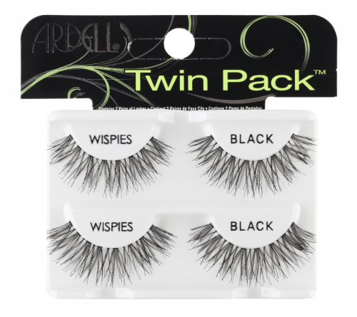 ARDELL - WISPIES TWIN PACK - A set of 2 pairs of lashes on a belt