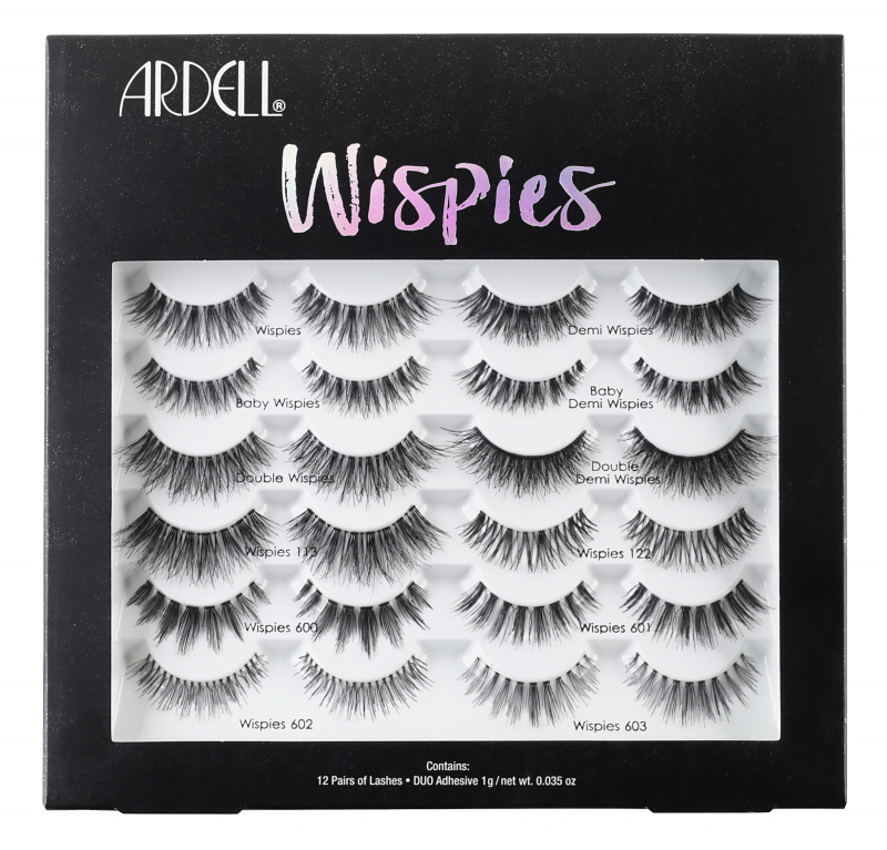 e79ad594e45 ARDELL - WISPIES WONDERLAND LASH BOX - Set of 12 pairs of artificial  eyelashes on stripe