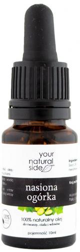 Your Natural Side - 100% naturalny olej z nasion ogórka