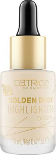 Catrice - GOLDEN DUST HIGHLIGHTER DROPS - Rozświetlacz w kropelkach