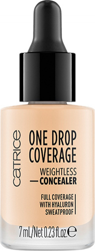 Catrice - ONE DROP COVERAGE - WEIGHTLESS CONCEALER - Korektor do twarzy w kropelkach