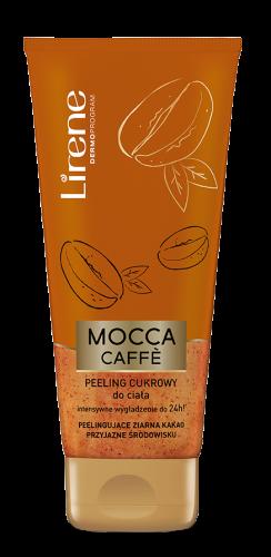 Lirene - MOCCA CAFE - Cukrowy peeling do ciała z ziarnami kakao - 200g