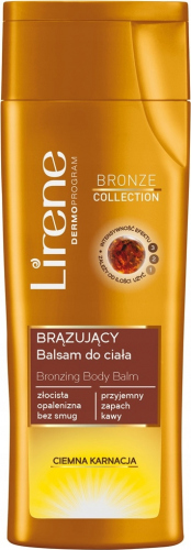 Lirene - Bronzing Body Balm - Brązujący balsam do ciała - CIEMNA KARNACJA