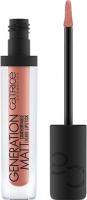 Catrice - GENERATION MATT Comfortable Liquid Lipstick - Pomadka do ust w płynie - 010 - NUDETOWN EXPRESS - 010 - NUDETOWN EXPRESS