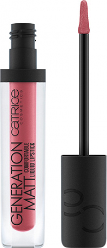 Catrice - GENERATION MATT Comfortable Liquid Lipstick - Pomadka do ust w płynie