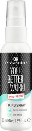 Essence - YOU BETTER WORK! FIXING SPRAY - Spray utrwalający makijaż