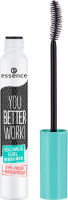 Essence - YOU BETTER WORK! VOLUME & CURL MASCARA - Thickening and curling mascara