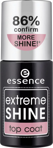 Essence - EXTREME SHINE TOP COAT - Lakier nawierzchniowy ekstremalnie nabłyszczający