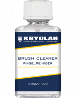 KRYOLAN - BRUSH CLEANER - Professional liquid for cleaning and disinfecting brushes - 30 ml - ART. 3490