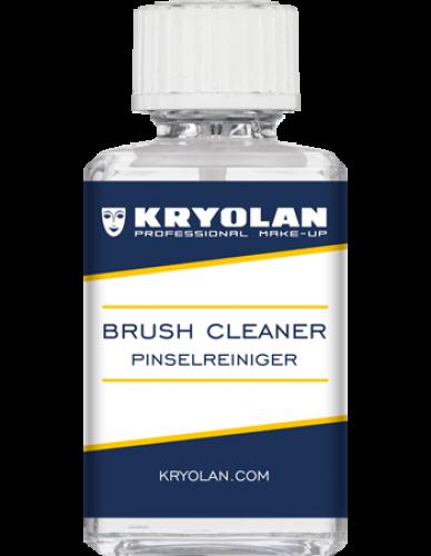 KRYOLAN - BRUSH CLEANER - Profesjonalny płyn do mycia i dezynfekcji pędzli - 30 ml - ART. 3490