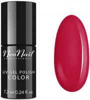 NeoNail - UV GEL POLISH COLOR - COVER GIRL - Lakier hybrydowy - 7,2 ml - 6674-7 CARMINE RED - 6674-7 CARMINE RED