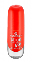 Essence - SHINE LAST & GO! GEL NAIL POLISH - Gel nail polish - 15 - HEATWAVE - 15 - HEATWAVE