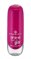 Essence - SHINE LAST & GO! GEL NAIL POLISH - Żelowy lakier do paznokci - 21 - ANYTHING GOES! - 21 - ANYTHING GOES!