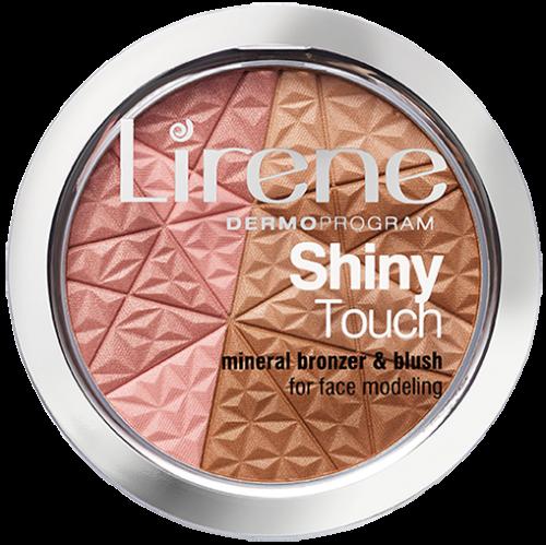 Lirene - Shiny Touch - Mineral Bronzer & Blush