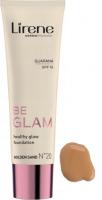 Lirene - BE GLAM - Healthy Glow Foundation - Rozświetlający podkład do twarzy z guaraną - 20 - GOLDEN SAND - 20 - GOLDEN SAND