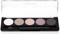 Golden Rose - Professional Palette Eyeshadow - Paleta 5 cieni do powiek - 111 - MISTY MATTE - 111 - MISTY MATTE