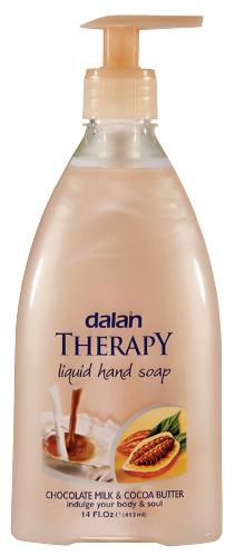 Dalan - THERAPY LIQUID HAND SOAP - Mydło do rąk w płynie - MASŁO KAKAOWE & CZEKOLADA MLECZNA