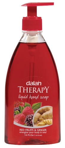 Dalan - THERAPY LIQUID HAND SOAP - Mydło do rąk w płynie - CZERWONE OWOCE & IMBIR