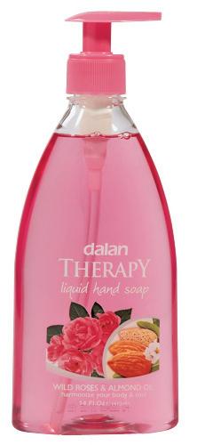 Dalan - THERAPY LIQUID HAND SOAP - Liquid hand soap - WILD ROSE & ALMOND OIL