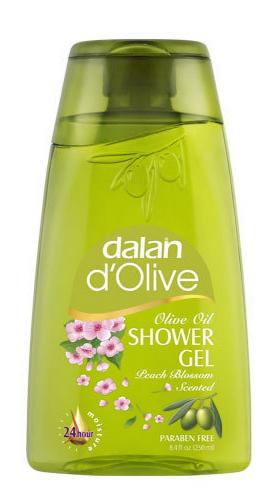 Dalan d`Olive - Olive Oil Shower Gel - Żel pod prysznic - KWIAT BRZOSKWINI
