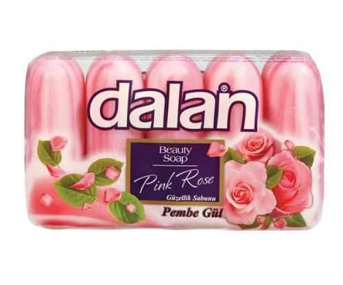 Dalan - Beauty Soap - Zestaw 5 mydeł - Różowa Róża