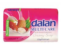 Dalan - MULTI CARE - Creamy Soap - Mydło nawilżające - MIGDAŁ I MLEKO