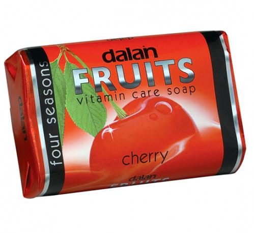 Dalan - Fruits Vitamin Care Soap - Witaminowe mydło w kostce - Wiśnia