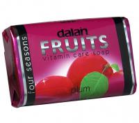 Dalan - Fruits Vitamin Care Soap - Witaminowe mydło w kostce - Śliwka