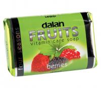 Dalan - Fruits Vitamin Care Soap - Witaminowe mydło w kostce - Owoce leśne