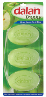 Dalan - TROPHY SOAP - Set of 3 bar soaps - APPLE