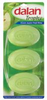 Dalan - TROPHY SOAP - Zestaw 3 mydeł w kostce - JABŁKO