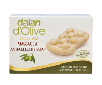 Dalan d'Olive - MASSAGE & ANTI CELLULITE SOAP - Olive anti-cellulite soap for body massage
