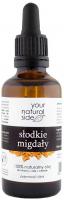 Your Natural Side - 100% naturalny olej ze słodkich migdałów - 50 ml