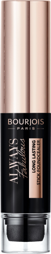 Bourjois - ALWAYS FABULOUS LONG LASTING STICK FOUNDCEALER - Covering foundation stick with sponge applicator
