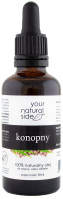 Your Natural Side - 100% naturalny olej konopny - 50 ml