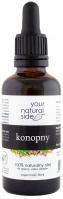 Your Natural Side - 100% naturalny olej konopny - 50 ml