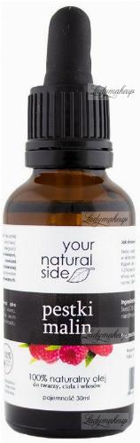 Your Natural Side - 100% naturalny olej z pestek malin - 30 ml