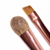 LASplash - DUO BRUSH -SCULPT/FLUFF - Podwójny pędzel do makijażu oka