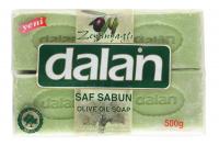 Dalan - Olive Oil Soap - Zestaw 4 mydeł w kostce - Oliwkowe